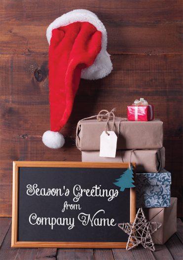 1606 - Festive Feel Branded Christmas Card