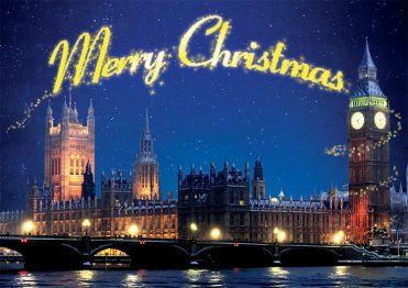 1632 - Winter Parliament Branded Christmas Card