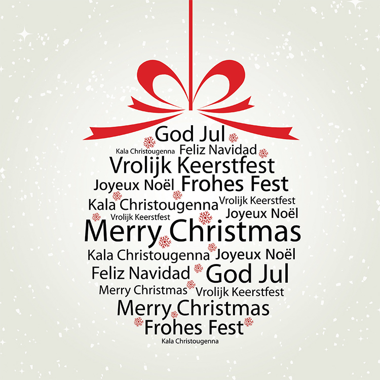 1658 - International Greetings Branded Christmas Card