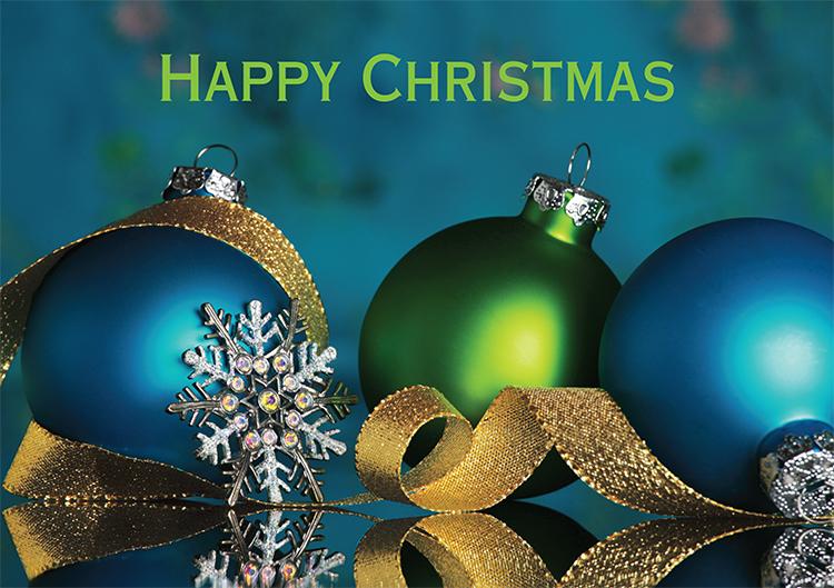 1662 - Sparkling Bells Branded Christmas Card