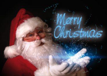 1669 - Magic Santa Branded Christmas Card