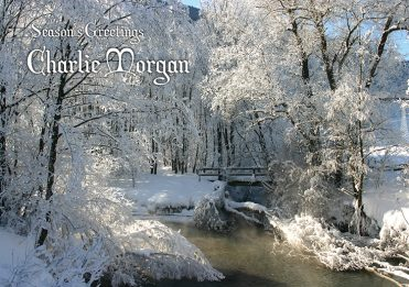 Personalised1 - Snowy River Branded Christmas Card