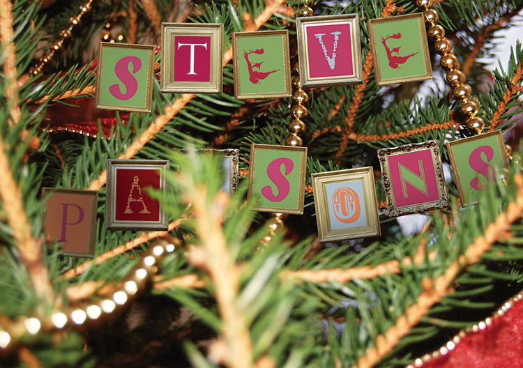 Personalised9 - Christmas Decorations Branded Christmas card