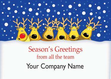 1622 - Meet the Team Branded Christmas Card