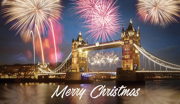 1641 - Festive Sky Branded Christmas Card