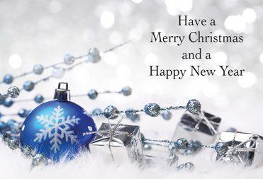 1663 - Glitter Ball Branded Christmas Card