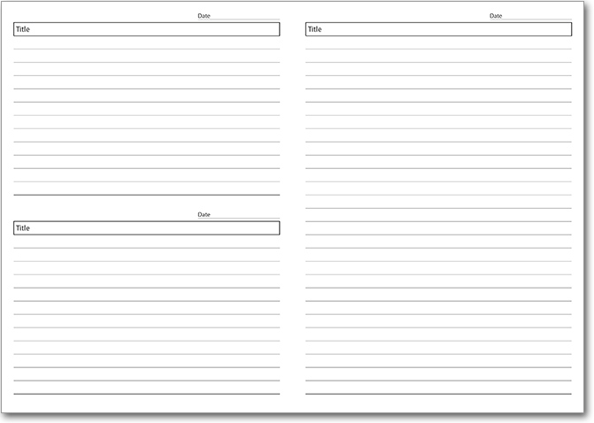 NEW! Template 4 with Rules with Date
