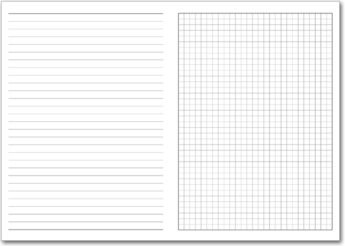 NEW! Template 5 with Rules and Grid